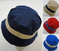 Child's Bucket Hat [Two-Tone Solid Color]